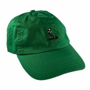 Everbody Skates Embroidered Green Dad Hat Cap